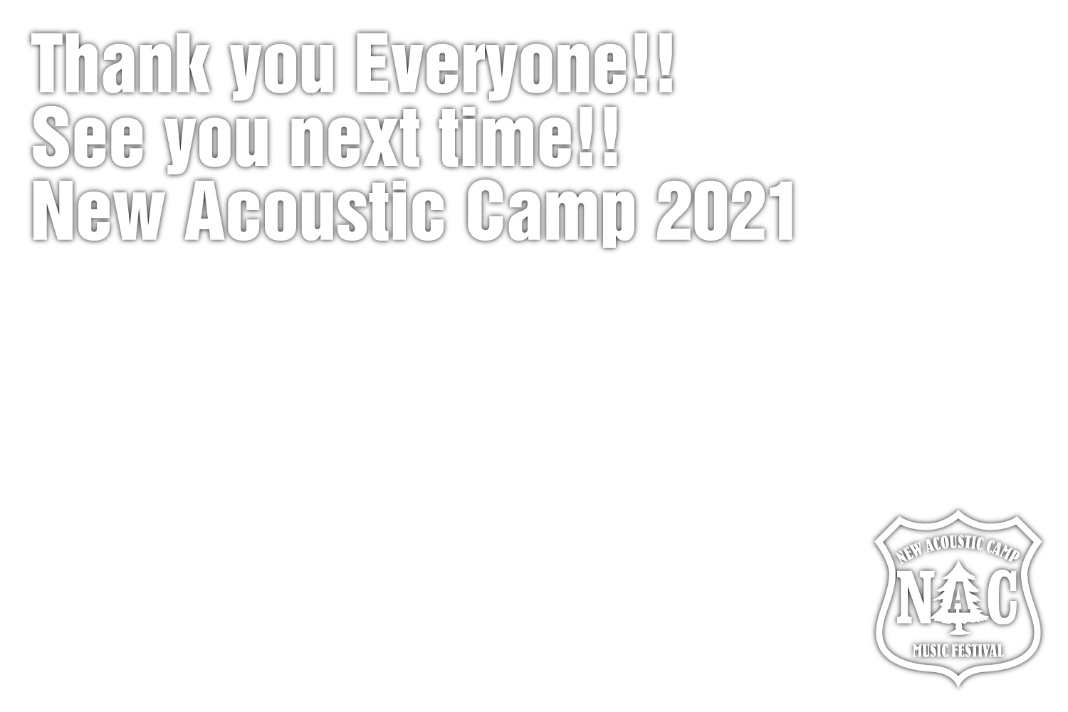 New Acoustic Camp 2019 | ニューアコ2019